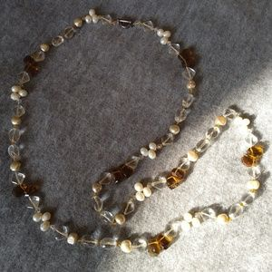 Beautiful Long Bead Necklace